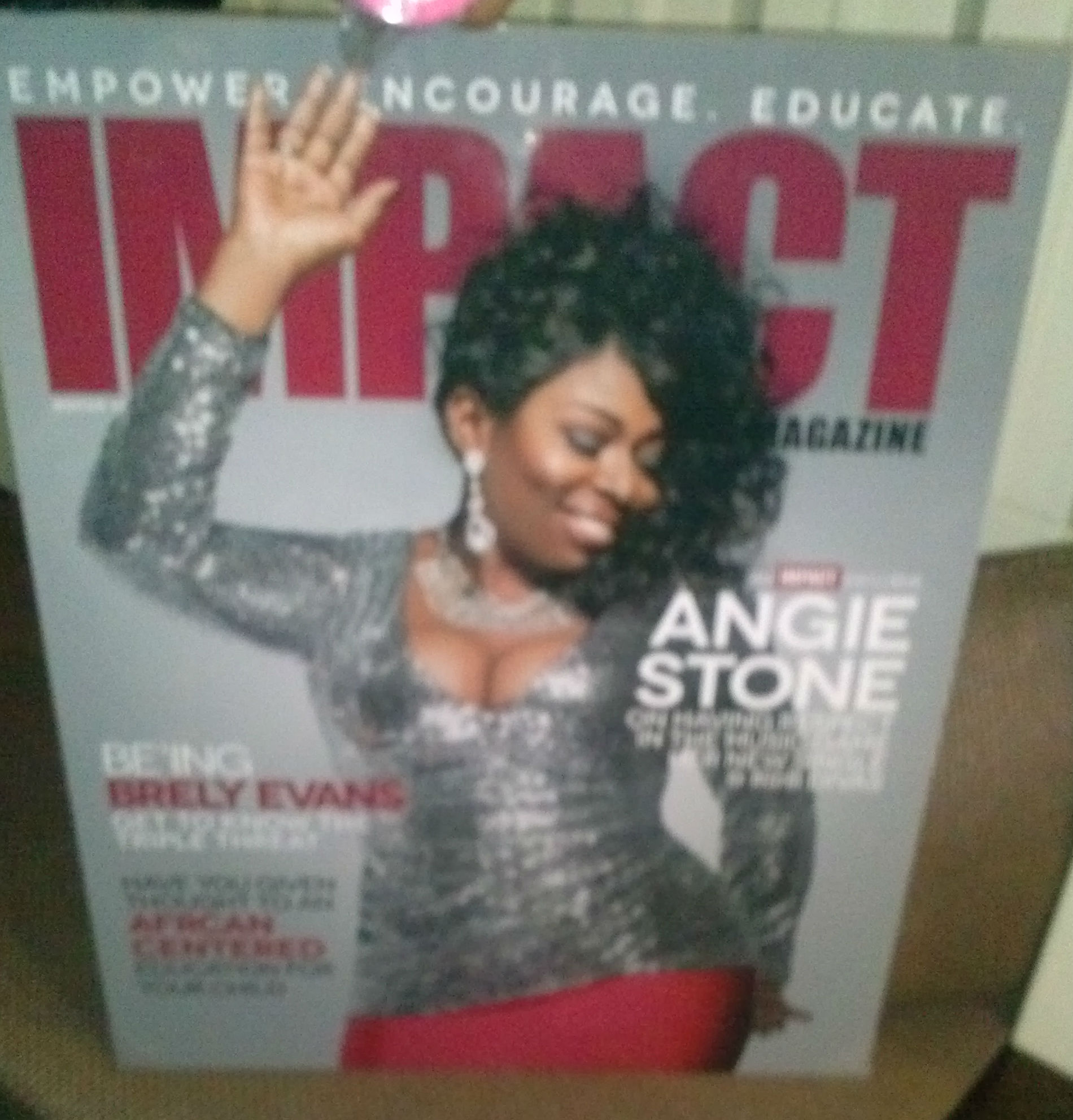 Cocktails & Conversations with Angie Stone