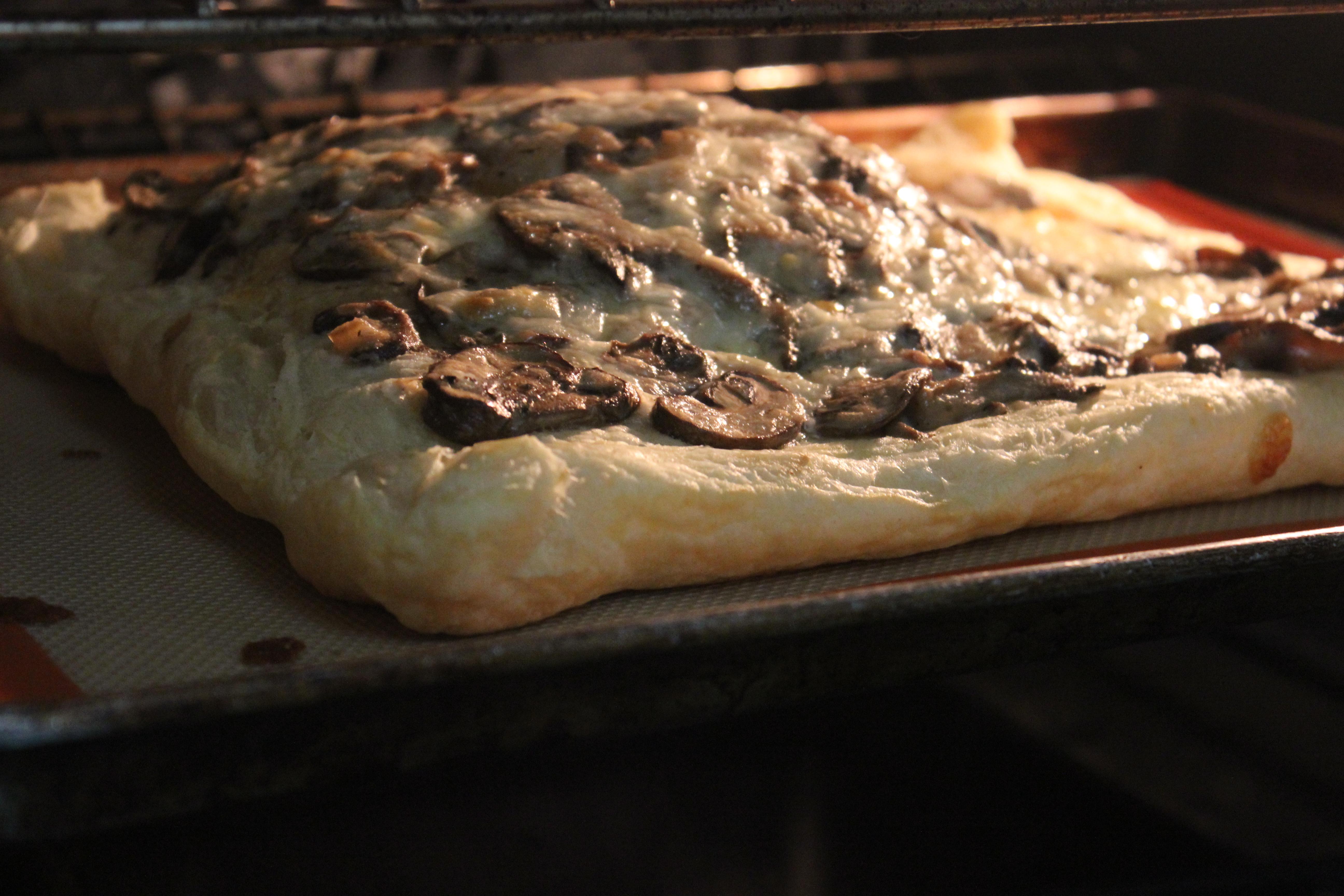 Creamy Wild Mushroom Tart